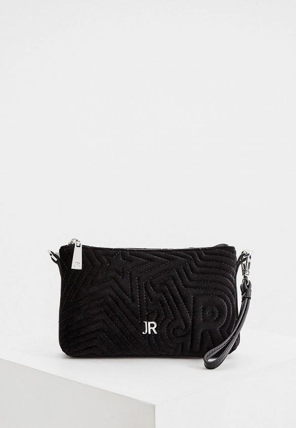 Фото - Женскую сумку John Richmond черного цвета