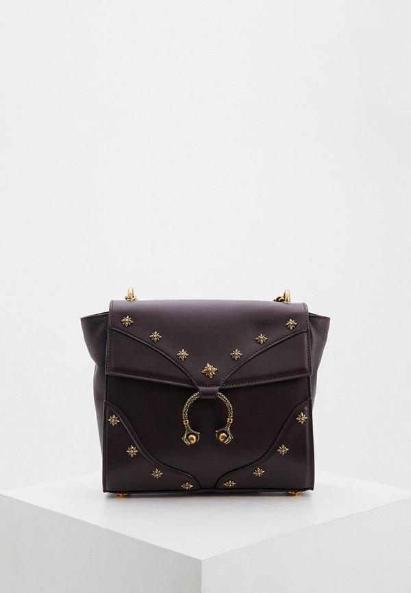 женская сумка john richmond, коричневая