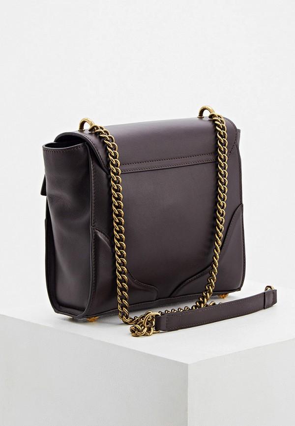 Фото 2 - Женскую сумку John Richmond коричневого цвета