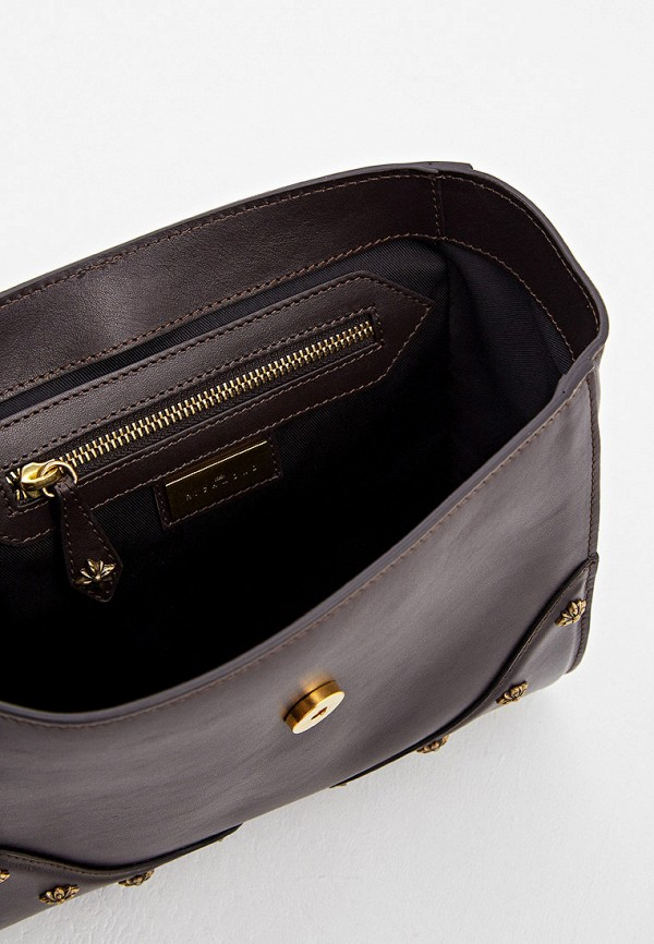 Фото 4 - Женскую сумку John Richmond коричневого цвета