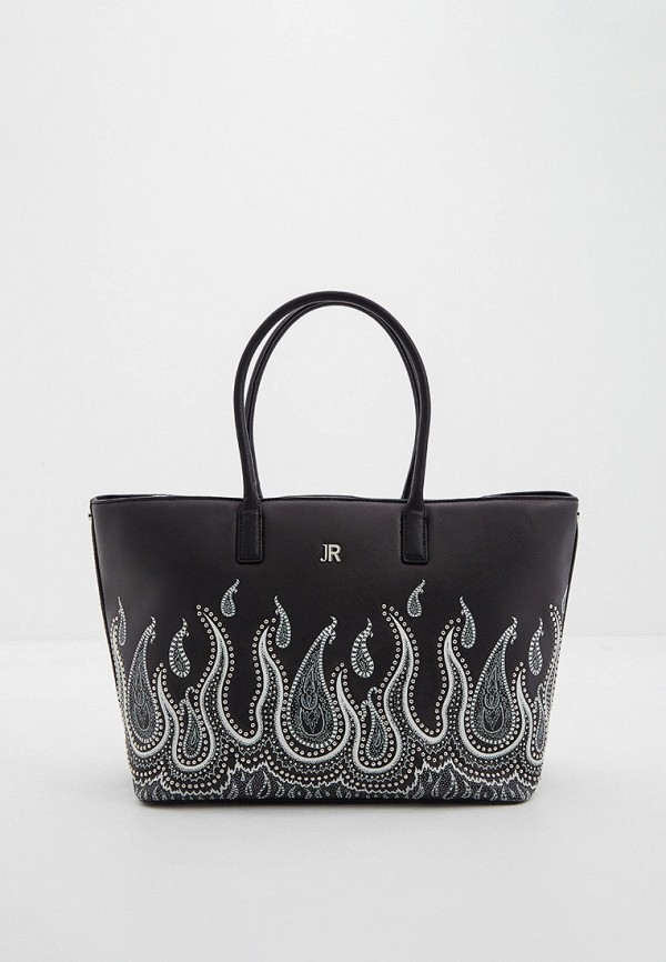 женская сумка с ручками john richmond, черная