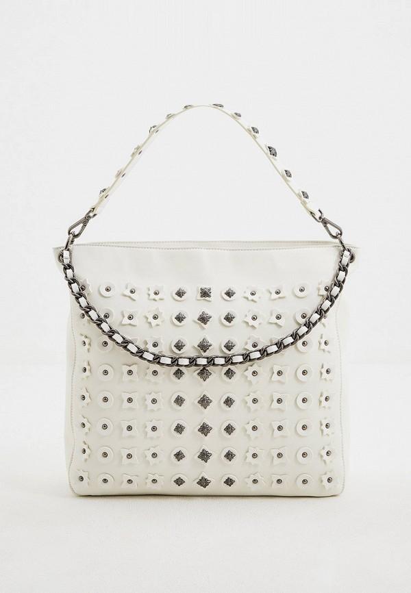 женская сумка-шоперы john richmond, белая