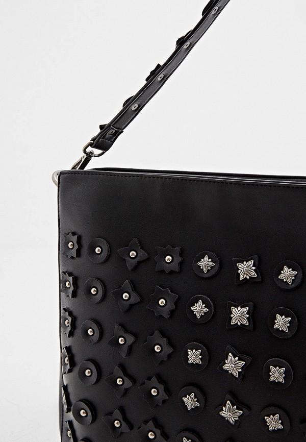 Фото 4 - Женские сумки и аксессуары John Richmond черного цвета