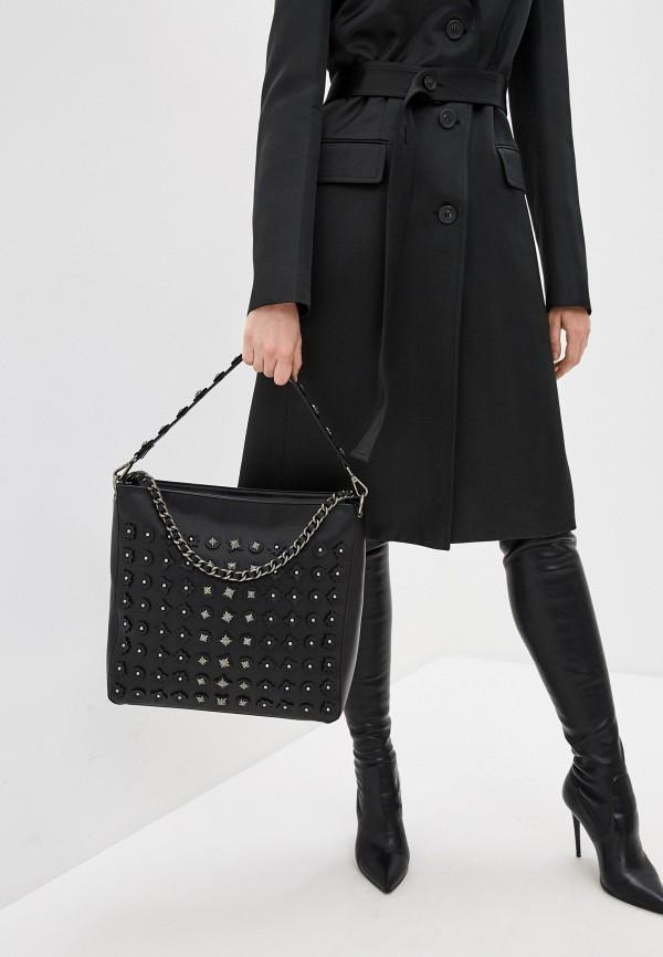 Фото 6 - Женские сумки и аксессуары John Richmond черного цвета