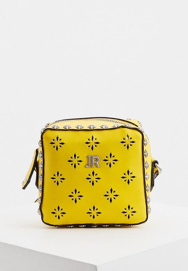 женская сумка john richmond, желтая