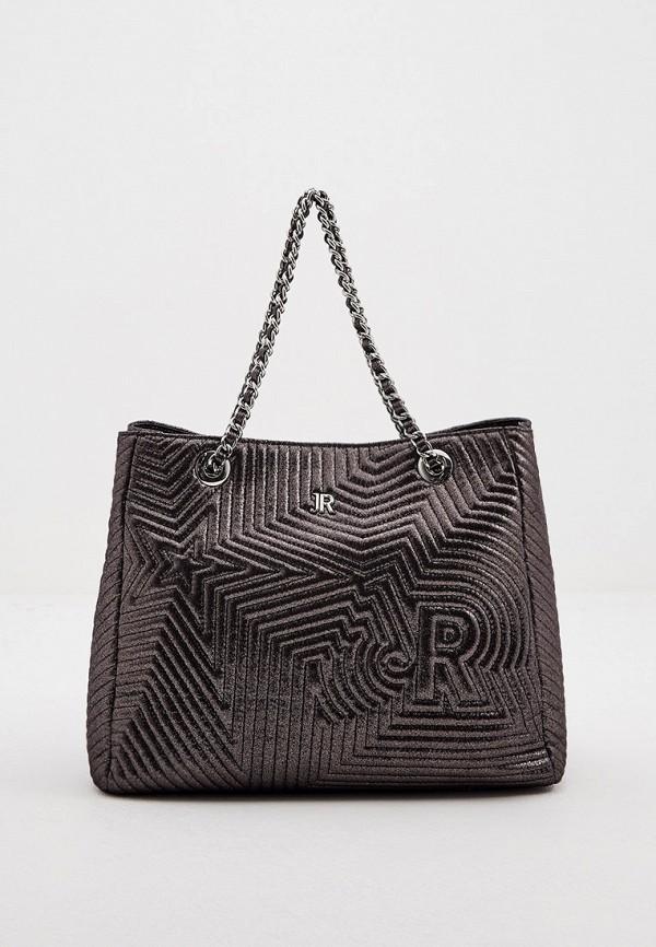женская сумка john richmond, серая