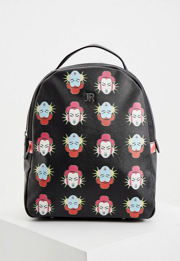 женский рюкзак john richmond, черный