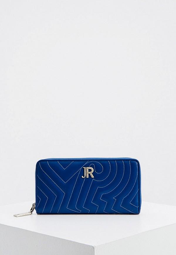 женский кошелёк john richmond, синий