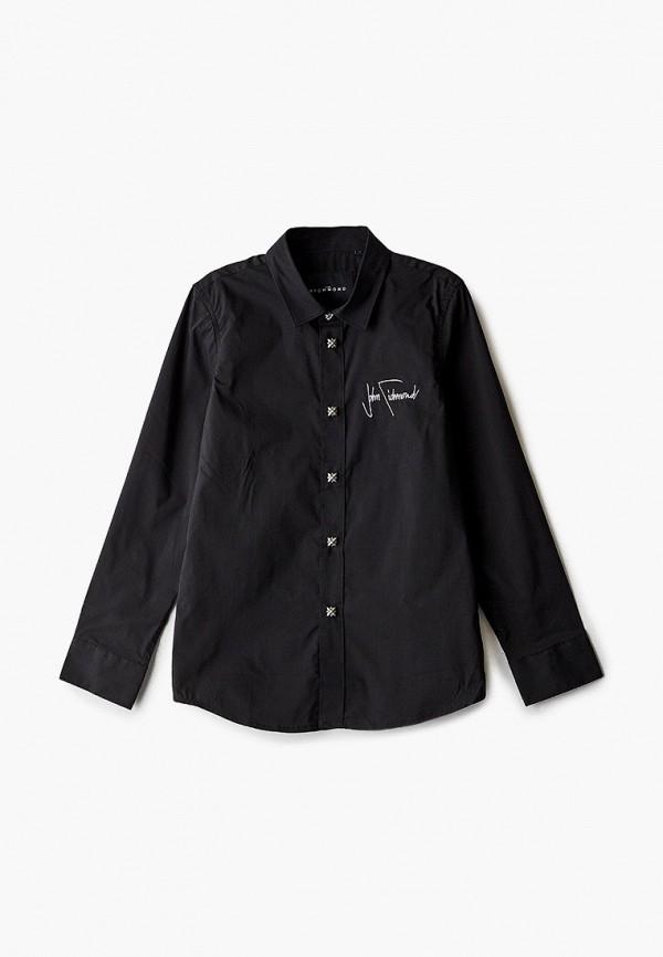рубашка john richmond для мальчика, черная