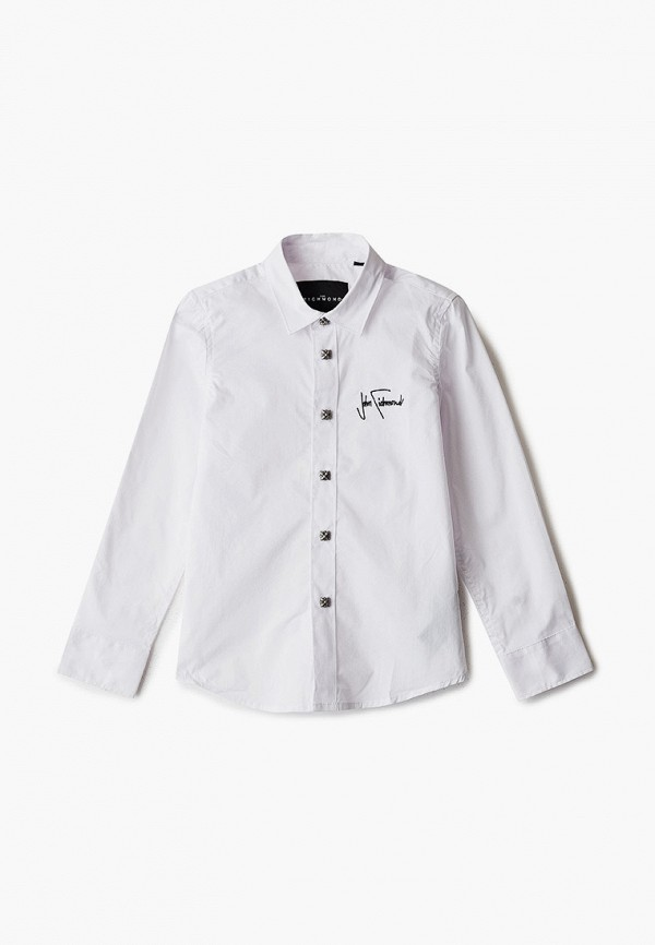рубашка john richmond для мальчика, белая