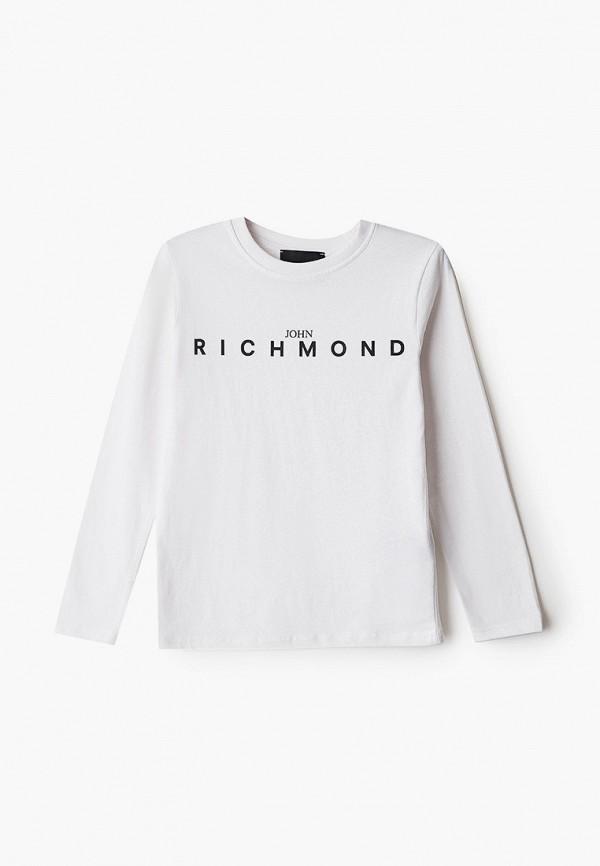 лонгслив john richmond для мальчика, белый