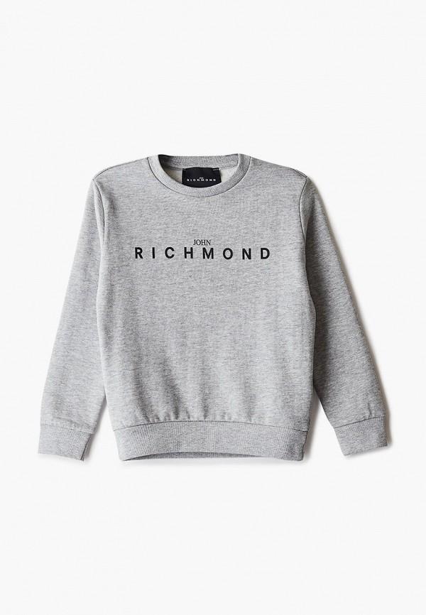 свитшот john richmond для мальчика, серый