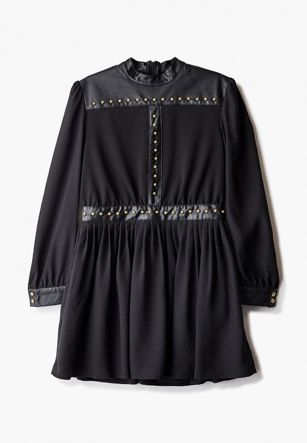 повседневные платье john richmond для девочки, черное