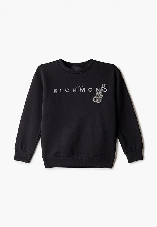 свитшот john richmond для девочки, черный