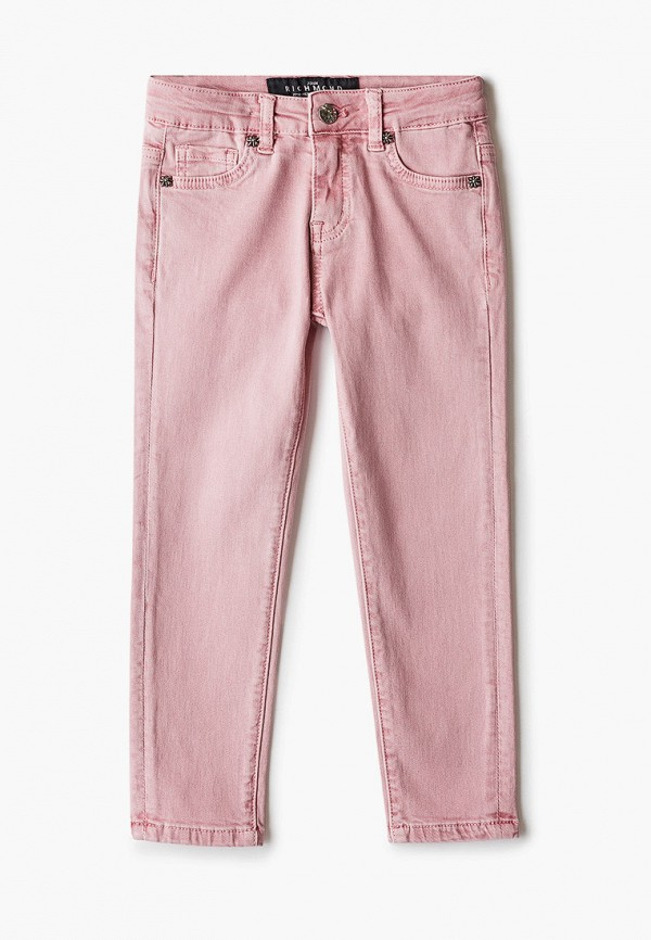 брюки john richmond для девочки, розовые