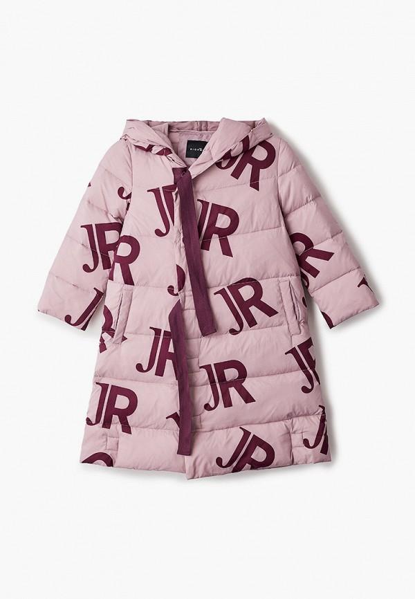пуховик john richmond для девочки, розовый