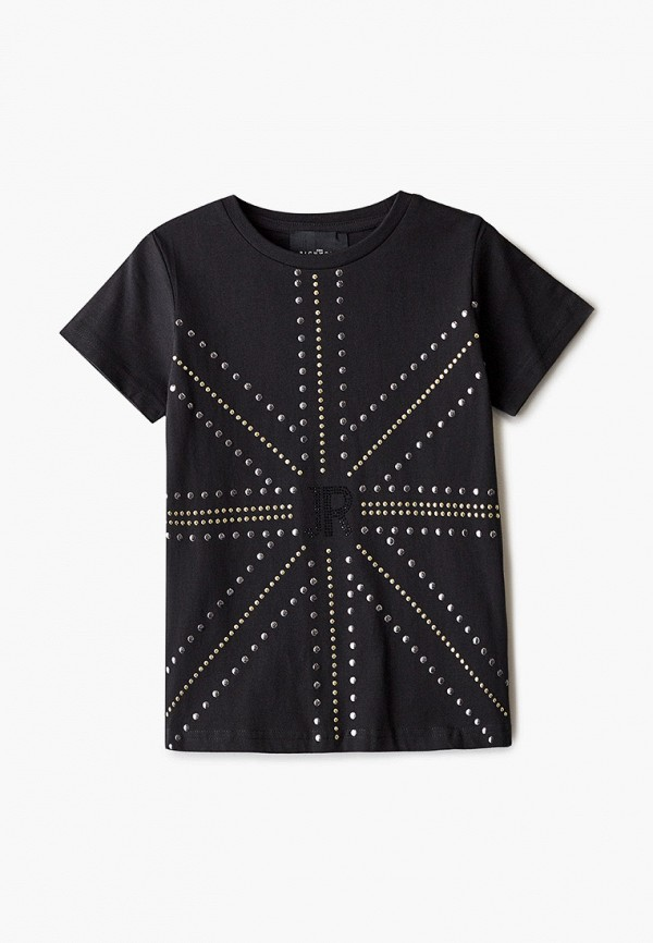 футболка с коротким рукавом john richmond малыши, черная