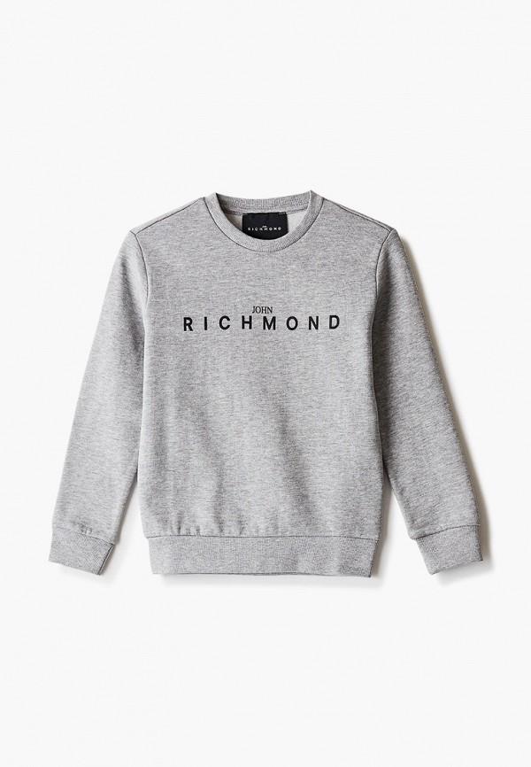 свитшот john richmond малыши, серый