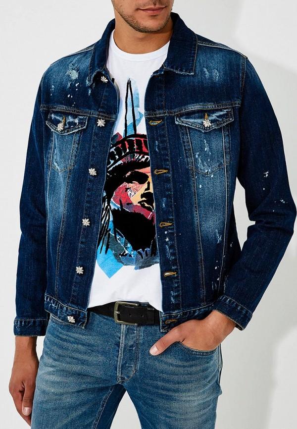 Фото - Куртка джинсовая John Richmond John Richmond JO003EMBQOQ0 john richmond мини юбка