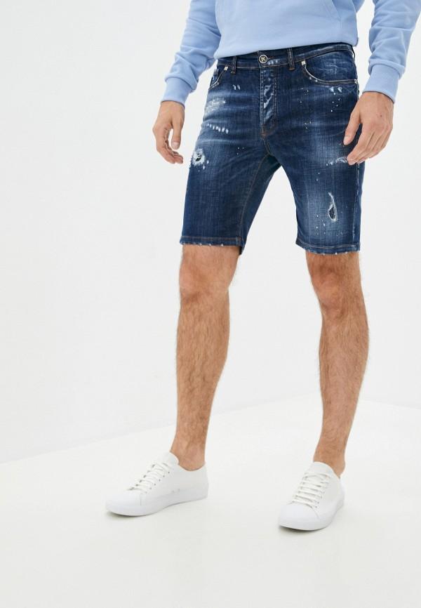 мужские джинсовые шорты john richmond, синие