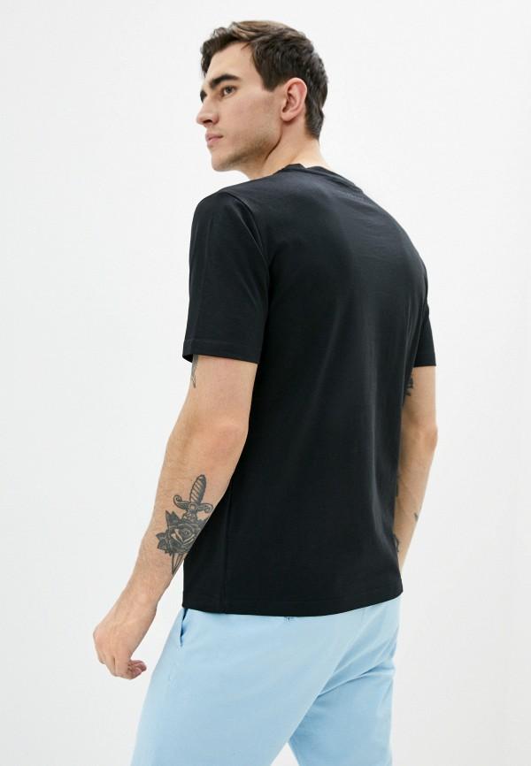 Фото 3 - Мужскую футболку John Richmond черного цвета