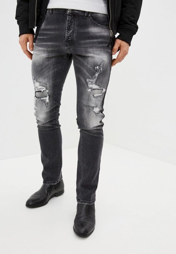 мужские зауженные джинсы john richmond, черные
