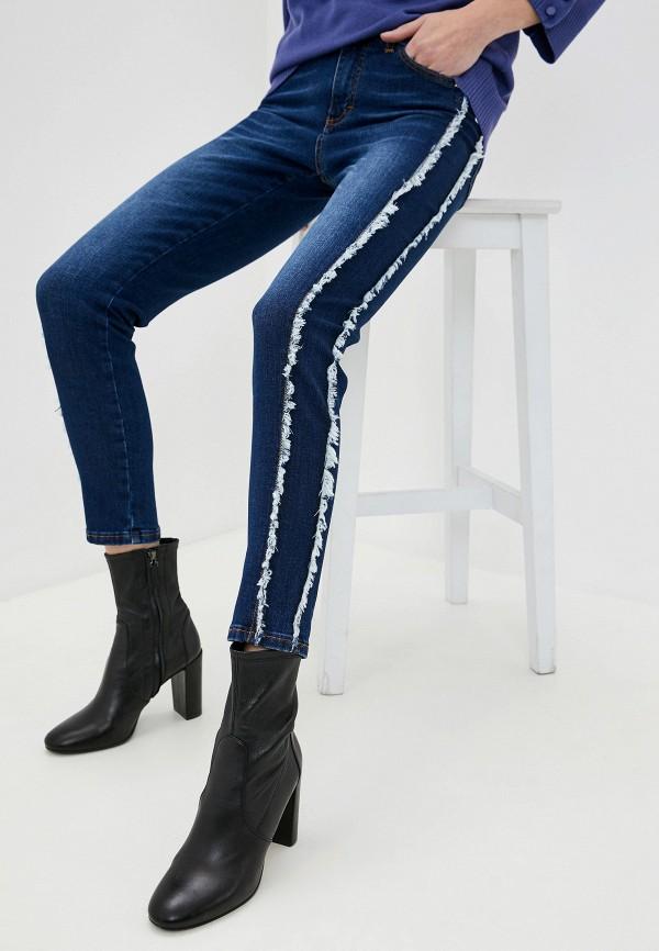 женские джинсы скинни john richmond, синие