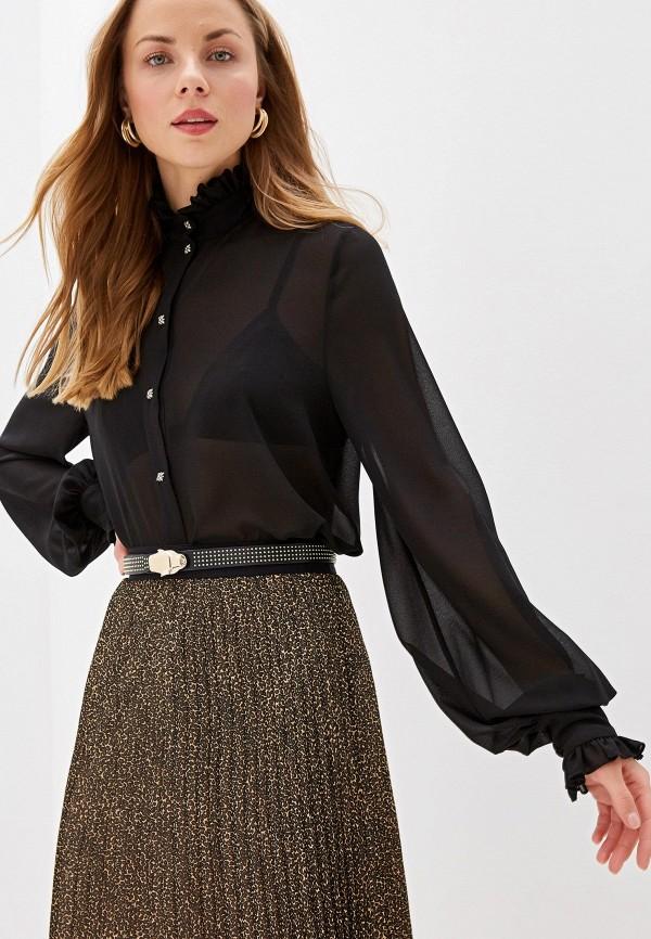 женская блузка john richmond, черная