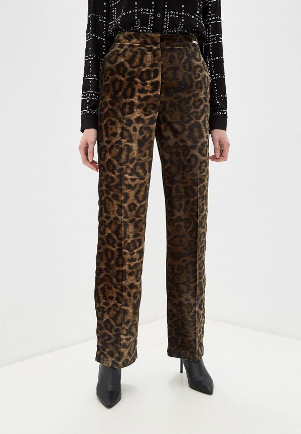 женские классические брюки john richmond, зеленые