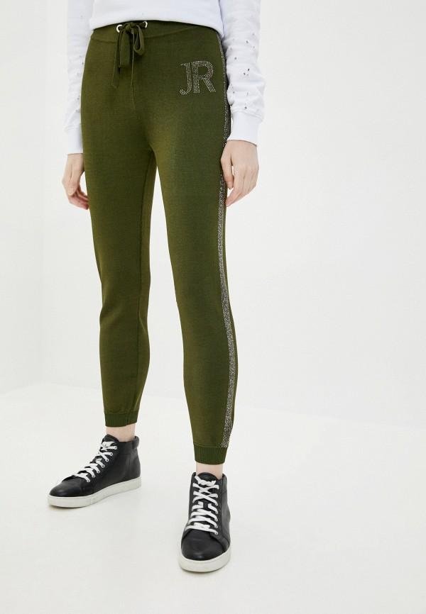 женские брюки джоггеры john richmond, хаки
