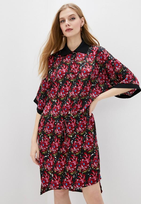 женское повседневные платье john richmond, красное