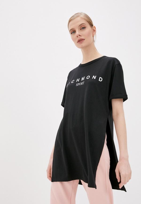 женское платье john richmond, черное
