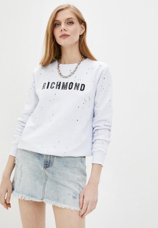 женский свитшот john richmond, белый