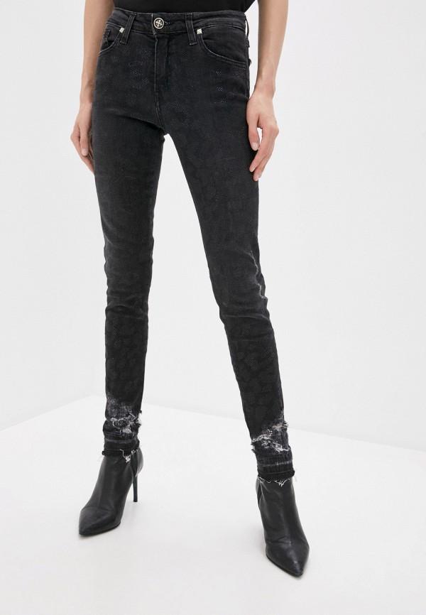 женские джинсы скинни john richmond, черные