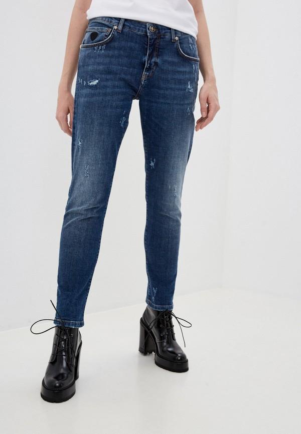 женские прямые джинсы john richmond, синие