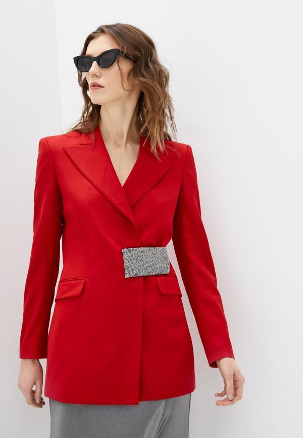 женский пиджак john richmond, красный