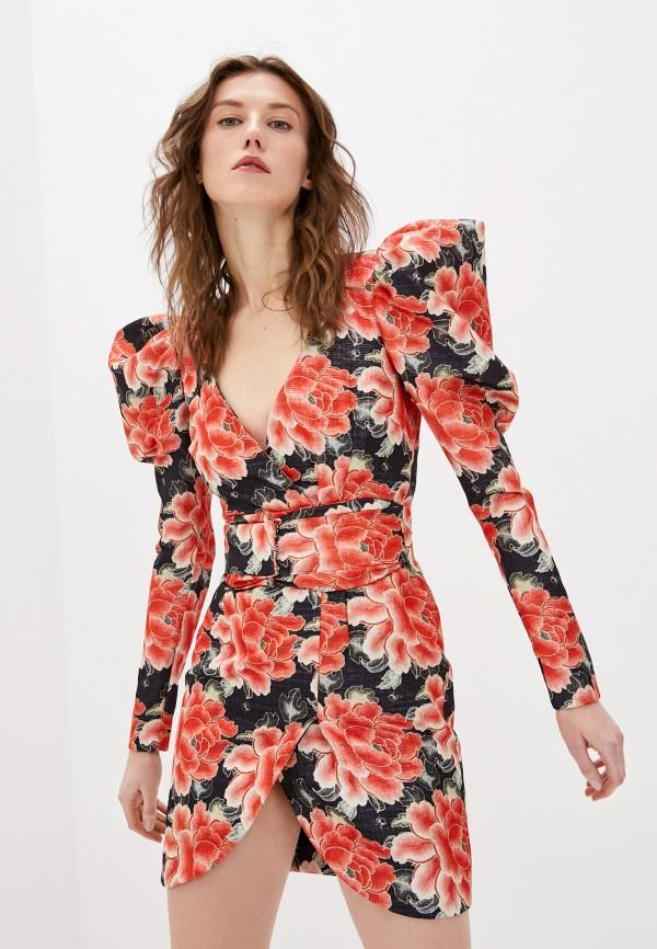 женское вечерние платье john richmond, красное