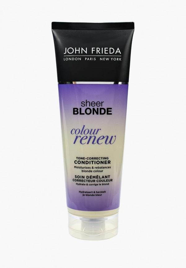 Купить Кондиционер для волос John Frieda, Sheer Blonde СOLOUR RENEW для восстановления и поддержания оттенка осветленных, 250 мл, jo005lukkq49, прозрачный, Осень-зима 2018/2019