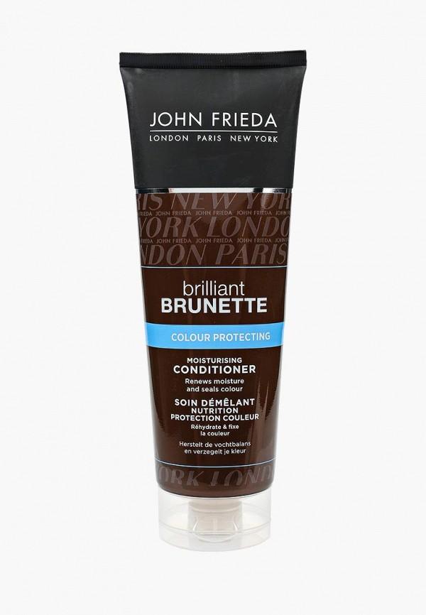 Купить Кондиционер для волос John Frieda, Brilliant Brunette COLOUR PROTECTING Увлажняющий для защиты цвета темных, 250 мл, jo005lukkq59, прозрачный, Осень-зима 2018/2019