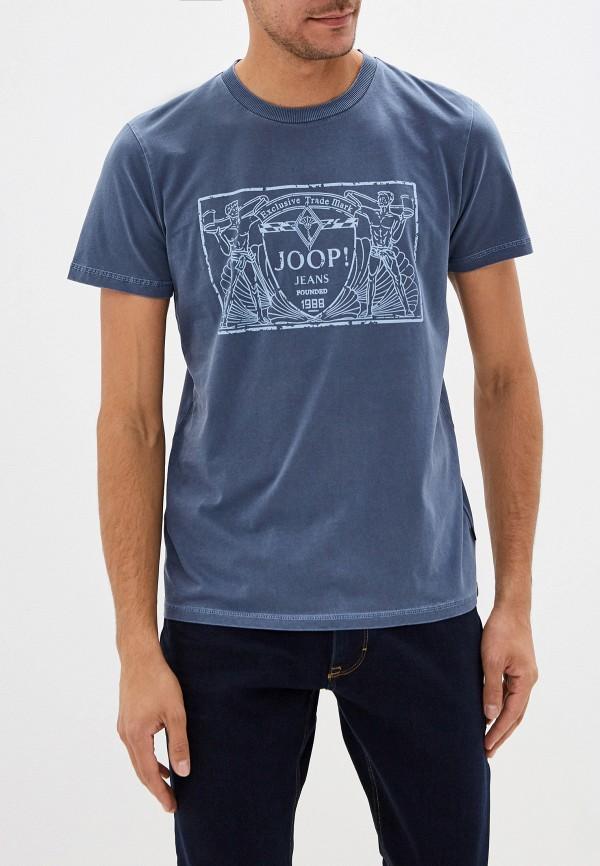 мужская футболка с коротким рукавом joop!, синяя
