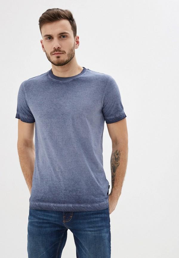 мужская футболка с коротким рукавом joop!, голубая