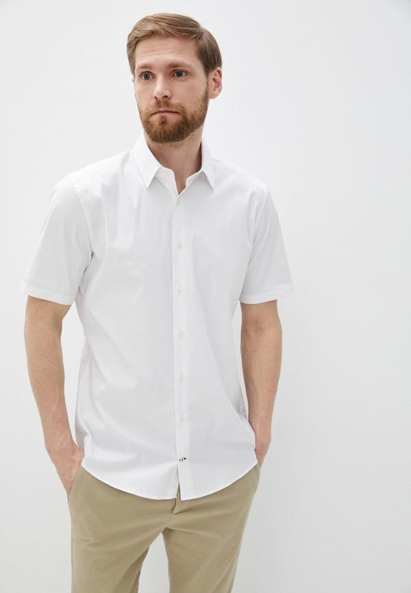 мужская рубашка с коротким рукавом joop!, белая