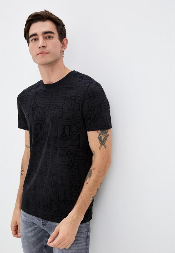 мужская футболка с коротким рукавом joop!, черная