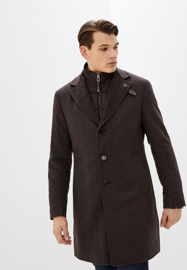мужское пальто joop!, коричневое