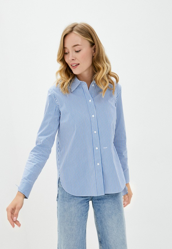 женская рубашка с длинным рукавом joop!, синяя