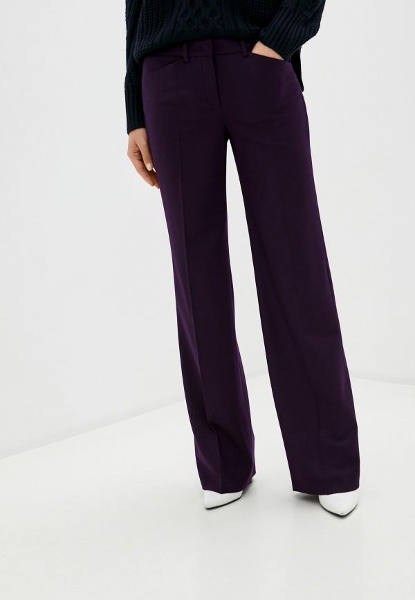 женские классические брюки joop!, фиолетовые