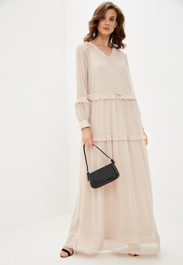 женское повседневные платье joop!, бежевое