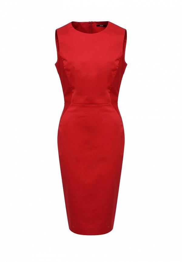 женское платье-футляр joop!, красное