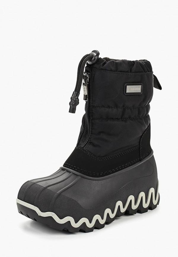 Купить Дутики Jog Dog, JO019ABCEJT5, черный, Осень-зима 2018/2019