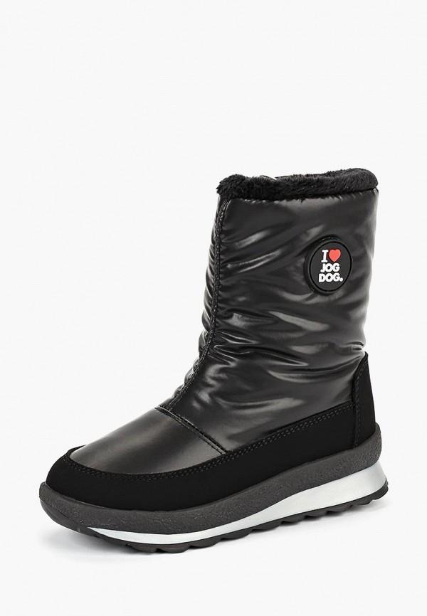 Купить Дутики Jog Dog, JO019AGCEJP7, черный, Осень-зима 2018/2019